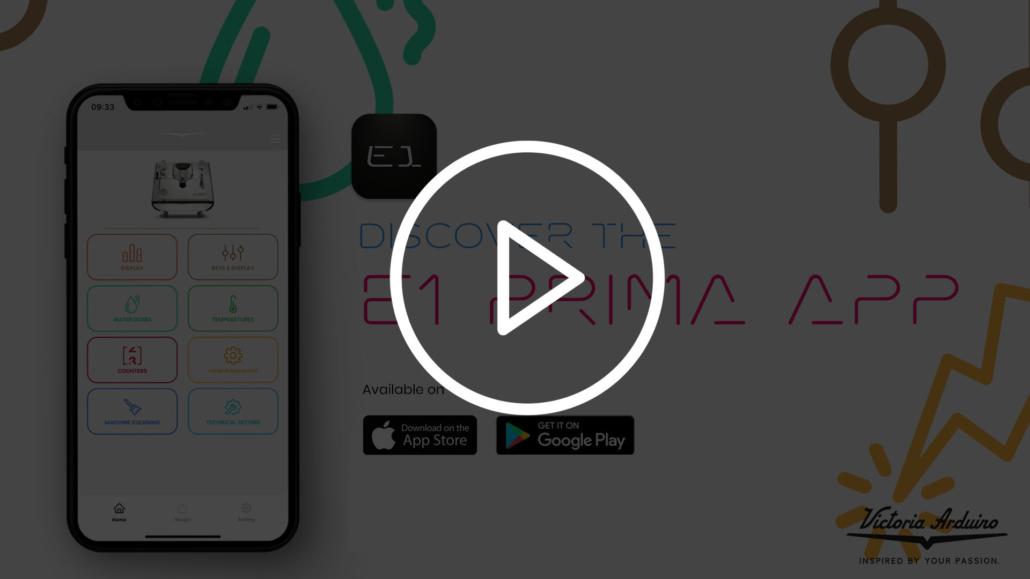 e1 prima app video
